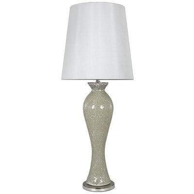 House Additions Sparkle Mosaic 98cm Table Lamp