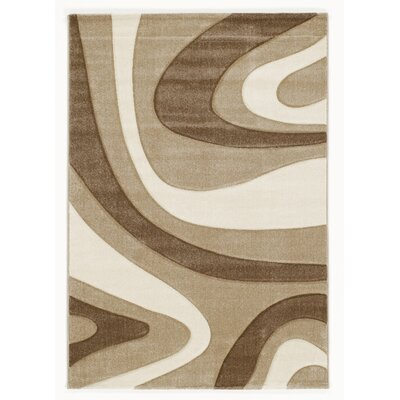 House Additions Beige/Brown Area Rug