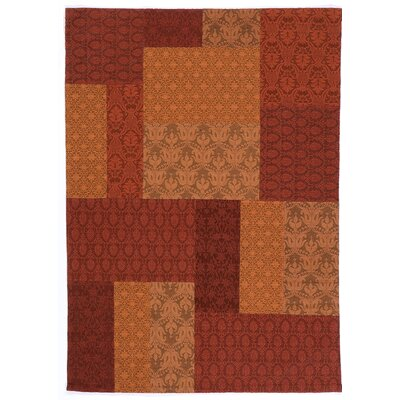 House Additions Sevran Handmade Red Area Rug