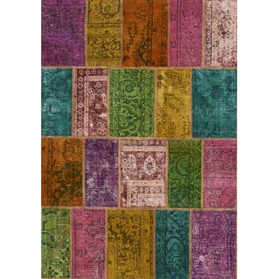 House Additions Assorted Persian Hand-Knotted Area Rug