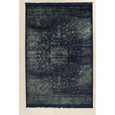 House Additions Vintage Marsan Black/Grey Area Rug