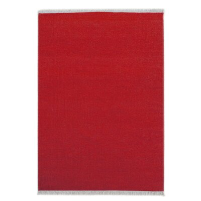House Additions Colmar Handmade Red Area Rug