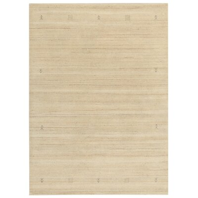 House Additions Evry Lori Hand-Knotted Cream Area Rug