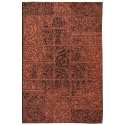 House Additions Auxerre Brick Area Rug