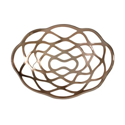 House Additions Volpe 51cm Fruit Bowl in Rose Gold