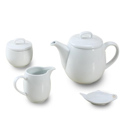House Additions 4-Piece Maine Tea Set