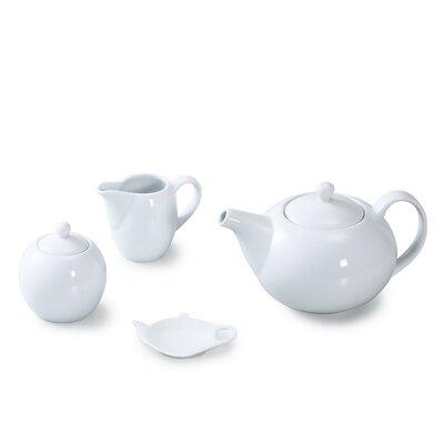 House Additions 4-Piece Coupe Tea Set