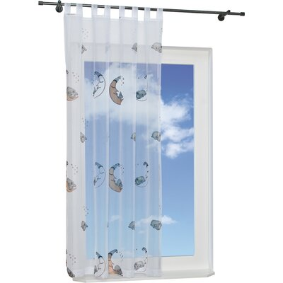 House Additions Sheep Curtain Panel