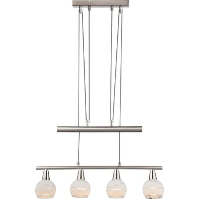 House Additions 4 Light Kitchen Island Pendant
