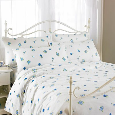 House Additions Printed Flette 100% Cotton Duvet Set