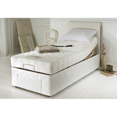 House Additions Upholstered Storage Adjustable Bed