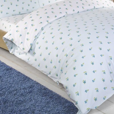 House Additions Scattered Floral Brushed Cotton Duvet Cover