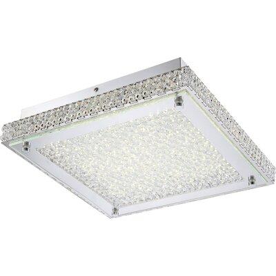 House Additions 1 Light Semi Flush Light