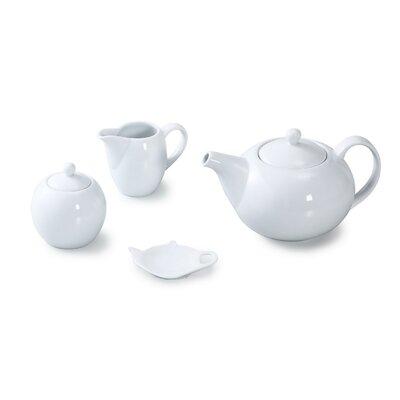 House Additions 4 Piece Porcelain Coupe Tea Set