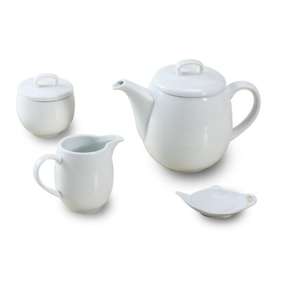 House Additions 4 Piece Porcelain Tea Set