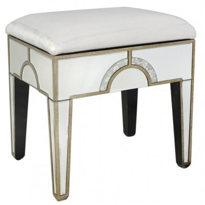 House Additions Hollywood Dressing Table Stool