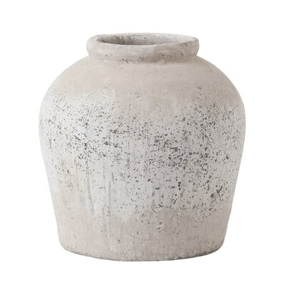 House Additions Round Pot Planter