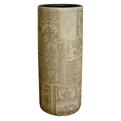 House Additions Patchwork Toile Umbrella Stand