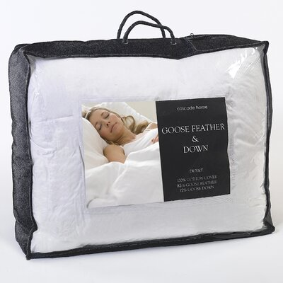 House Additions Genuine Goose Feather and Down 13.5 Tog Duvet