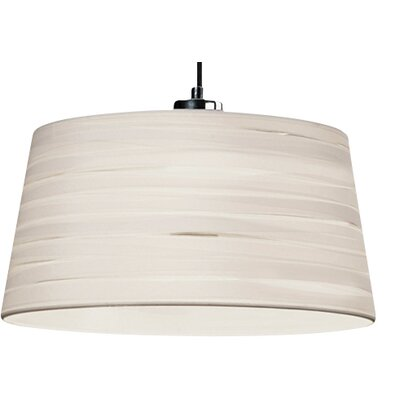 House Additions 33cm Magma Cotton Drum Pendant Shade