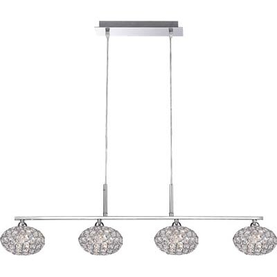 House Additions Emilia 4 Light Kitchen Island Pendant