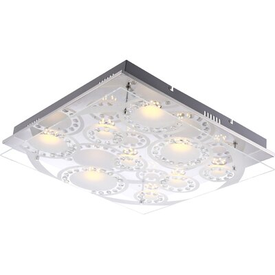 House Additions Tisoy 9 Light Flush Ceiling Light