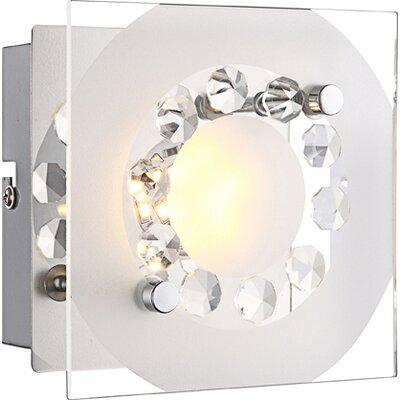 House Additions Tisoy 1 Light Flush Wall Light
