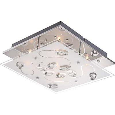 House Additions Xina 5 Light Flush Ceiling Light