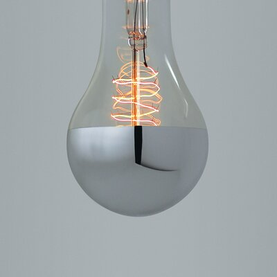 House Additions 40W Gray/Smoke E27/Medium Light Bulb