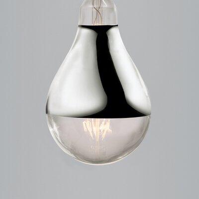 House Additions 60W Gray/Smoke E27/Medium LED Light Bulb