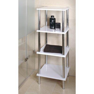 House Additions Silverdown 39 x 107cm Bathroom Shelf