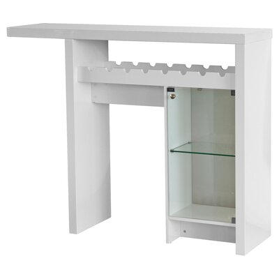 House Additions Larga Bar Cabinet with Wine Storage
