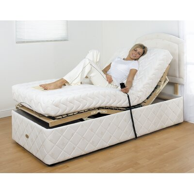 House Additions Upholstered Adjustable Bed