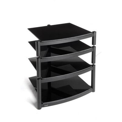 House Additions Coombe Hi Fi Celebration LE Rack in Gloss Black