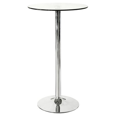 House Additions Glass Poseur Bar Table