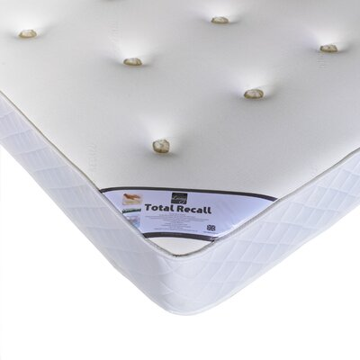 House Additions Total Recall Coil Sprung 450 Mattress