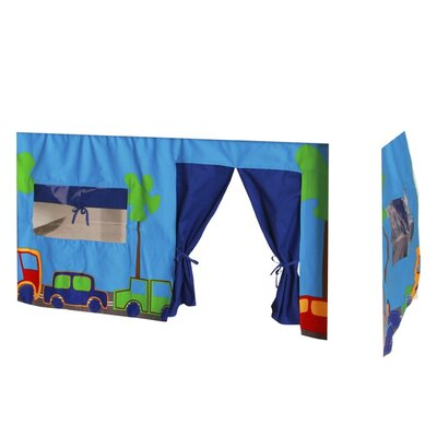 House Additions Childrenz Bunk Bed Print Tent