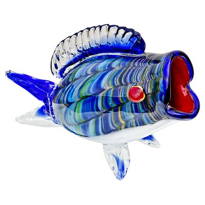 House Additions Big-Mouth Fish Figurine
