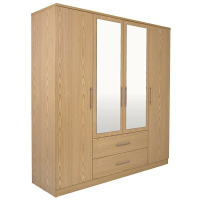 House Additions Bennington 4 Door Wardrobe