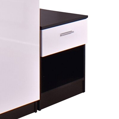 House Additions Marconie 1 Drawer Bedside Table