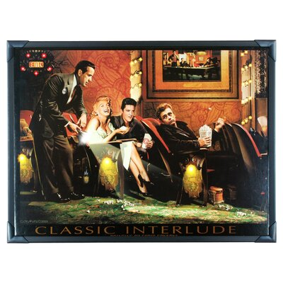 House Additions Classic Interlude Large LED Picture by Chris Consani Framed Art Print