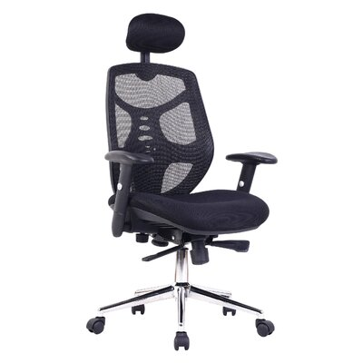 Home & Haus High-Back Mesh Executive Chair with Lumbar Support
