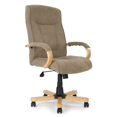 Home & Haus Managers High-Back Executive Chair with Lumbar Support