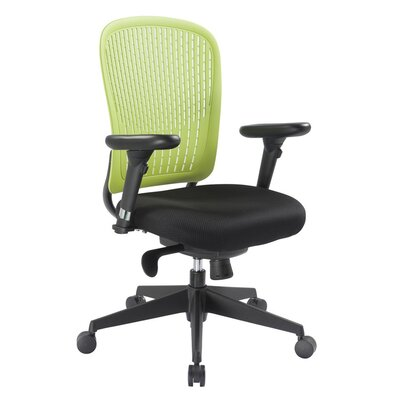 Home & Haus Managers Mid-Back Desk Chair