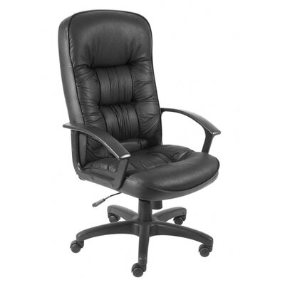 Home & Haus King High-Back Leather Executive Chair