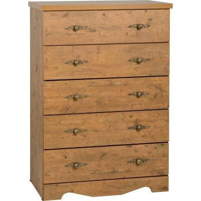 Home & Haus Lache 5 Drawer Chest of Drawers