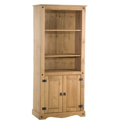 Home & Haus Traditional Corona Tall Wide 183cm Standard Bookcase