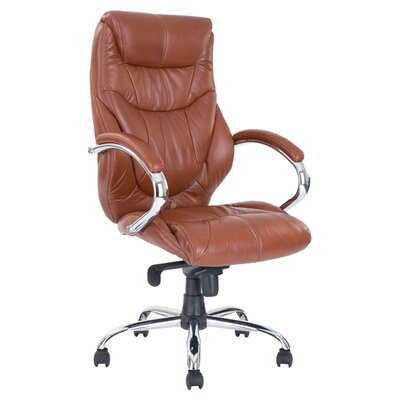 Home & Haus Milton High-Back Executive Chair with Lumbar Support