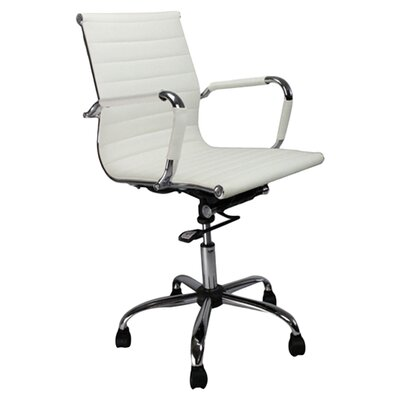 Home & Haus Designer Mid-Back Executive Chair