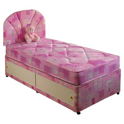 Home & Haus Larkmount Memory Foam Divan Panel Bed